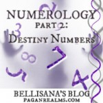 Destiny Numbers