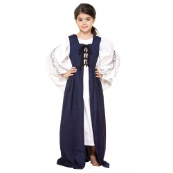 Renaissance Fair Maiden Dress for Girls 4  - 14