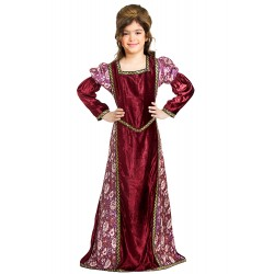 Princess Hilde Medieval Gown for ages 4 -14