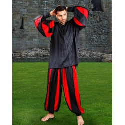 Men's Medieval Pleated Jester Pants