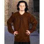 Lace Up Medieval Men's Shirt in 8 colors