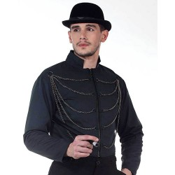 Steampunk Men's Chain Jacket