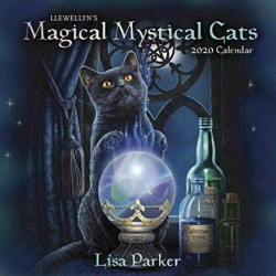 2020 Magical Mystical Cats Calendar by Llewellyn / Lisa Parker