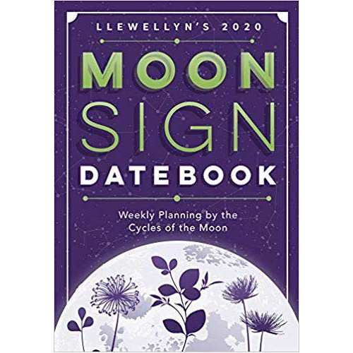 2020 Moon Sign Datebook by Llewellyn