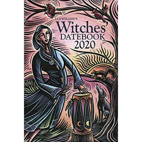 2020 Witches Datebook by Llewellyn