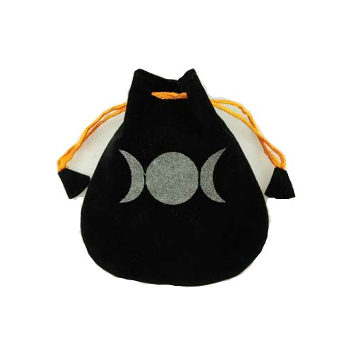 Triple Goddess Velveteen Bag