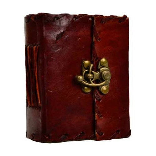 "1842 Poetry Leather Journal 240 pgs. 4"" x  5"""