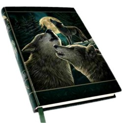 """Wolf Song Journal by Anne Stokes 5"""" x 7"""""""