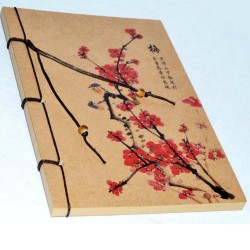 String Bound Cherry Blossom Journal