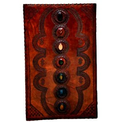 "7 Stone Leather Tome 14"" x 22"""