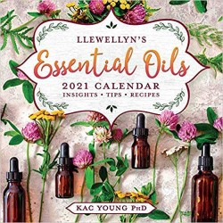 2021 Essential Oils Calendar by Llewellyn