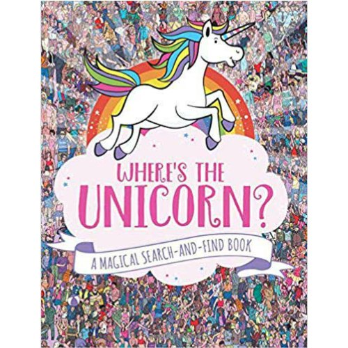 Where's the Unicorn Hidden Object Activity Book