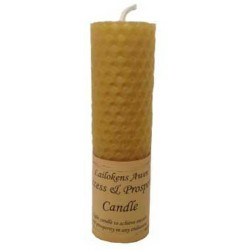 Lailokens Awen Success & Prosperity Candle 4 1/4""