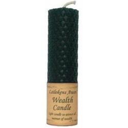 """Lailokens Awen Wealth Candle 4 1/4"""""""