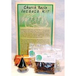 Church Resin Incense Kit