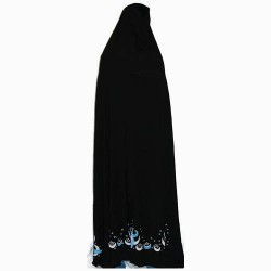 Moon Goddess Cape in Black