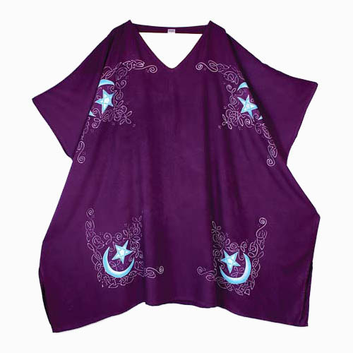 Celtic Moon Caftan purple 3 ft square