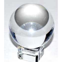 "Clear Quartz 3"" Crystal Ball 80mm"