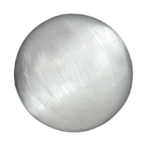 "White Selenite 3"" - 4"" Crystal Ball 80mm"