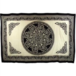 "Ancient Celtic Knot Tapestry 72"" x 108"""
