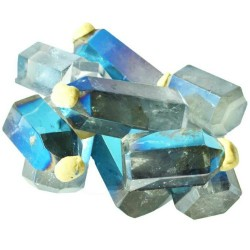 Angel Aqua Blue Crystal Points