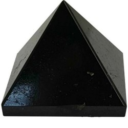 Black Tourmaline Pyramid 25-30mm
