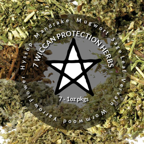 7 Witching Herbs Protection Pack