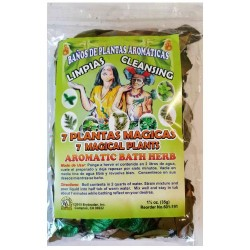 7 Magical Plants Aromatic Bath Herb Mix 1.25 oz