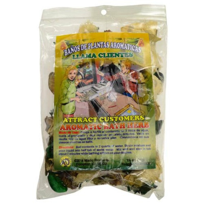 Attract Customers aromatic bath herbs 1 25 oz