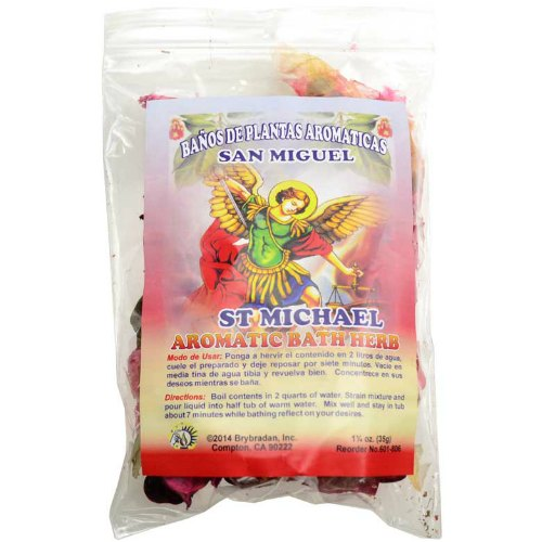 St Michael (San Miguel) Aromatic Bath Spell Herb Mix 1.25 oz