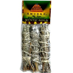 "Mystic Gold Smudge Sticks 4"" 3pk"