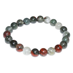 African Bloodstone (Seftonite) Bracelet 8mm