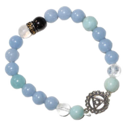 Throat Chakra 8mm Bracelet
