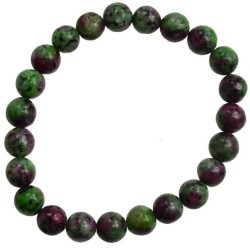 Ruby Zoisite 8mm Bracelet (dyed stone)