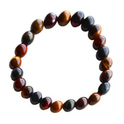 Tiger Eye 8mm Gemstone Bracelet