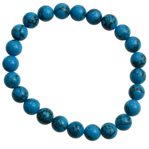 Turquoise 8mm Bracelet (synthetic)