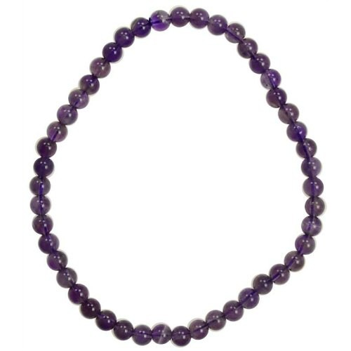 Amethyst 4mm Stretch Bracelet