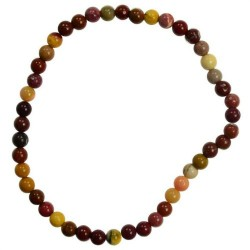 Mookaite Jasper 4mm Stretch Bracelet