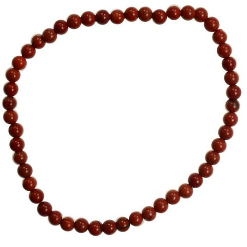 Red Jasper 4mm Stretch Bracelet