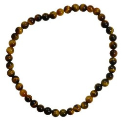 Tiger Eye Stretch Bracelet 4mm