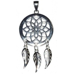 Dreamcatcher Pendant Sterling Silver