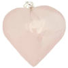 Rose Quartz Heart Pendant 1""
