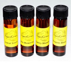 2 Dram Elemental Annointing Oils | Earth, Air, Fire & Water