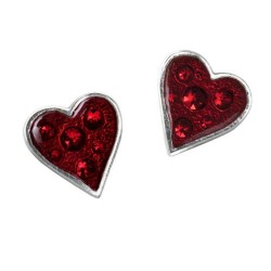 Heart's Blood Earrings
