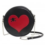 Skull Heart Bag by Alchemy of England