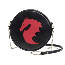Red Dragon Black Canteen Bag