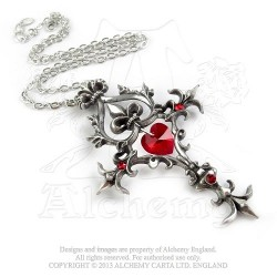 Renaissance Cross of Passion Pendant