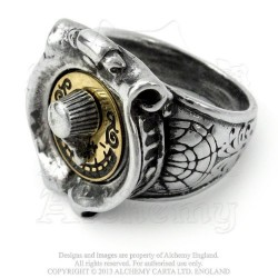 GMT Feromonic Field Detector Ring by Alchemy of England Empire
