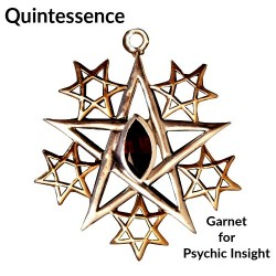 Briar Gemstones - Quintessence, Garnet for Psychic Insight