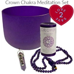 Crown Chakra Meditation 4pc. Set